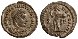 I. Constantinus follis - SOL INVICTO COMITI - London