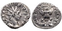 Gallienus antoninianus - VICT GERMANICA