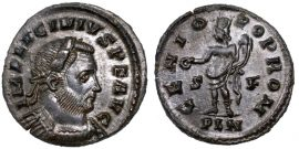 I. Licinius follis - GENIO POP ROM - London