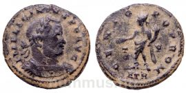 I. Licinius follis - GENIO POP ROM - Treveri